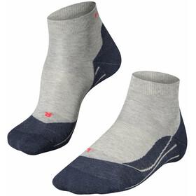 Falke RU4 Calzini da corsa Donna, grigio/blu
